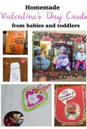 Homemade Valentine's Day Card Ideas from Babies and Toddlers