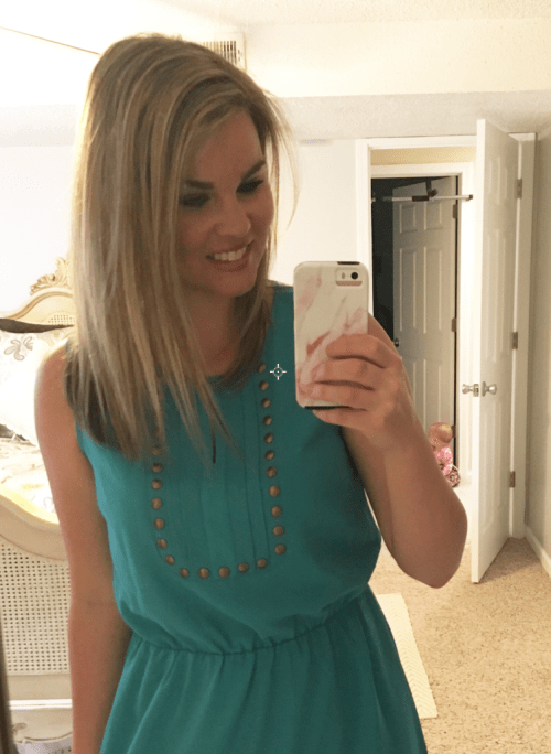 Whimsical September Stitch Fix Review April 2017: Market and Spruce Moni Dress