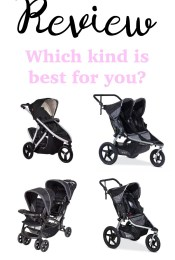 "Our Stroller ""Fleet"": Reviewing Our Single and Double Strollers (All Six of Them!)"