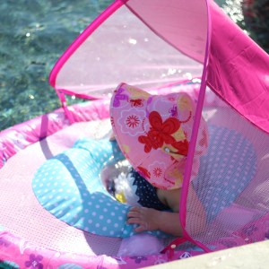 "Sadie's New ""Ride"": Her Summer Baby Spring Float"