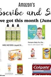 Our June 2017 Subscribe and Save Items