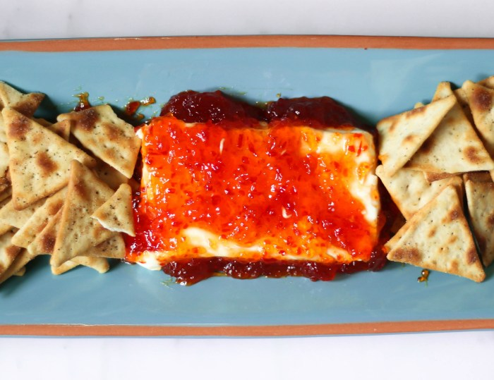 Cream Cheese and Red Pepper Jelly Dip