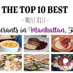 Top 10 Best Restaurants in Manhattan, Kansas