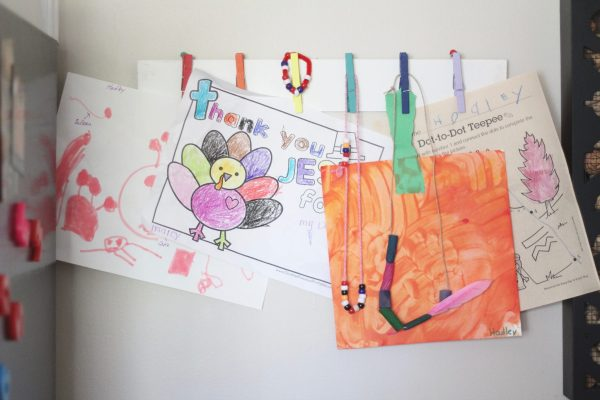5 Things I Do With My Kids' Schoolwork and Artwork