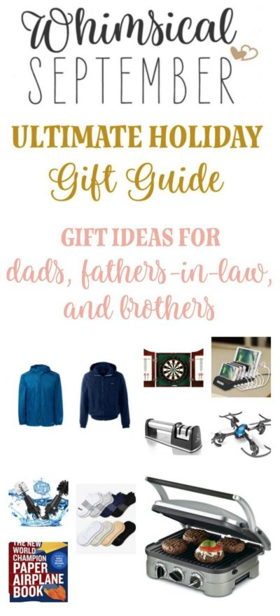Gift ideas for dads, brothers, and fathers-in-law: Shop for your favorite men in your life with this random collection of holiday gift ideas! These creative, fun gifts will make him smile and appreciate the thought you put into a fun gift.