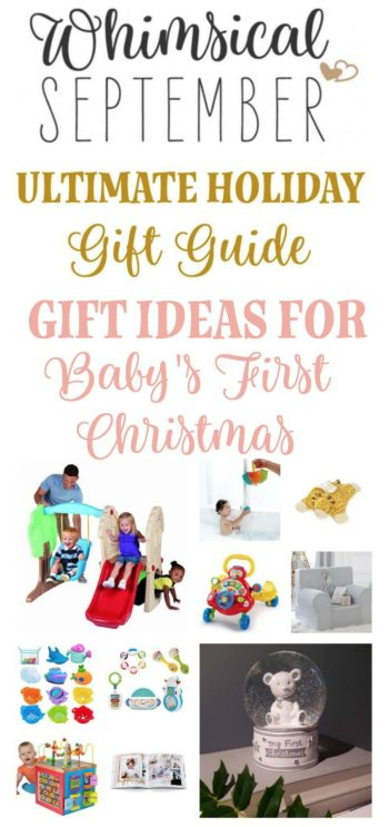Baby's first Christmas: If you're stumped on what to get for that tiny little bundle of joy, here are a few practical, fun, creative, loving gift ideas to give a baby for his or her first holiday season.