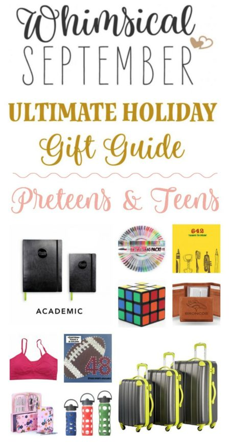 Gift ideas for preteens and teens: If you're shopping for a middle or high schooler this year, I hope this guide gets your wheels turning'! This list includes items for both boys and girls and includes clothes, academic items, hobby-related things, travel necessities, and all kinds of gadgets.