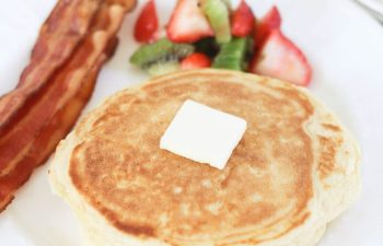 Our Family's Pancakes from Scratch Recipe + How We Freeze Them For Later