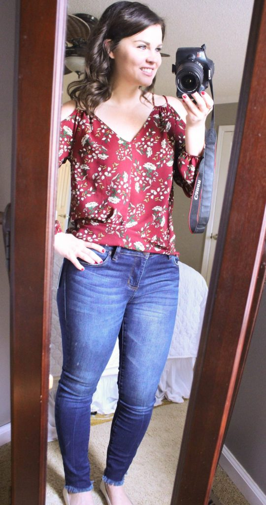 Stitch Fix: STS Blue Never Fray Hem Skinny Jean | Whimsical September