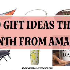 10 Gift Ideas From Amazon this Month
