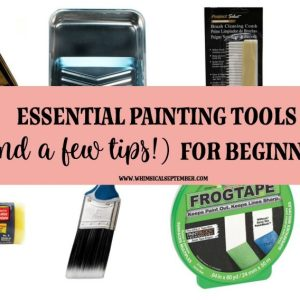 Essential Painting Tools for Beginners: Top Suggestions For New Painters