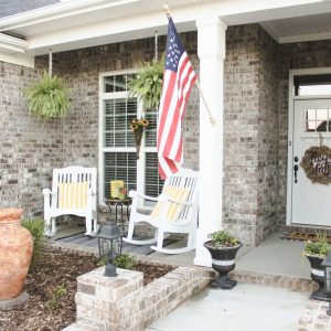 We Finally Have a Front Porch! + How We Styled It