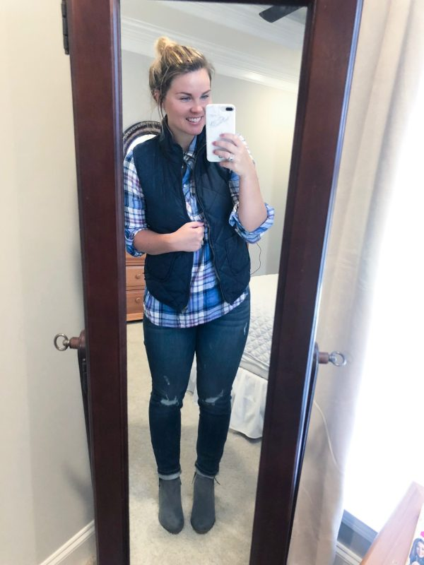 STITCH FIX | 41 Hawthorn: Wilco Solid Quilted Vest