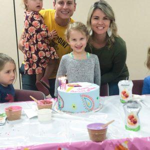 Celebrating Hadley's 5th Birthday