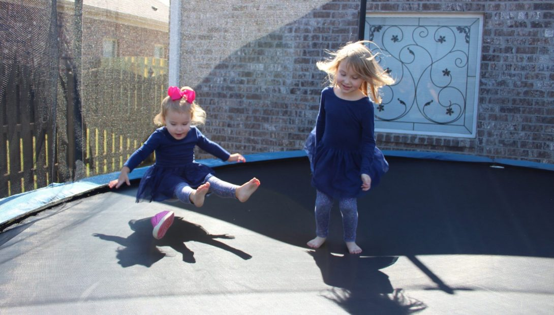 Was Getting Our Three Year Old a Trampoline a Good Idea?