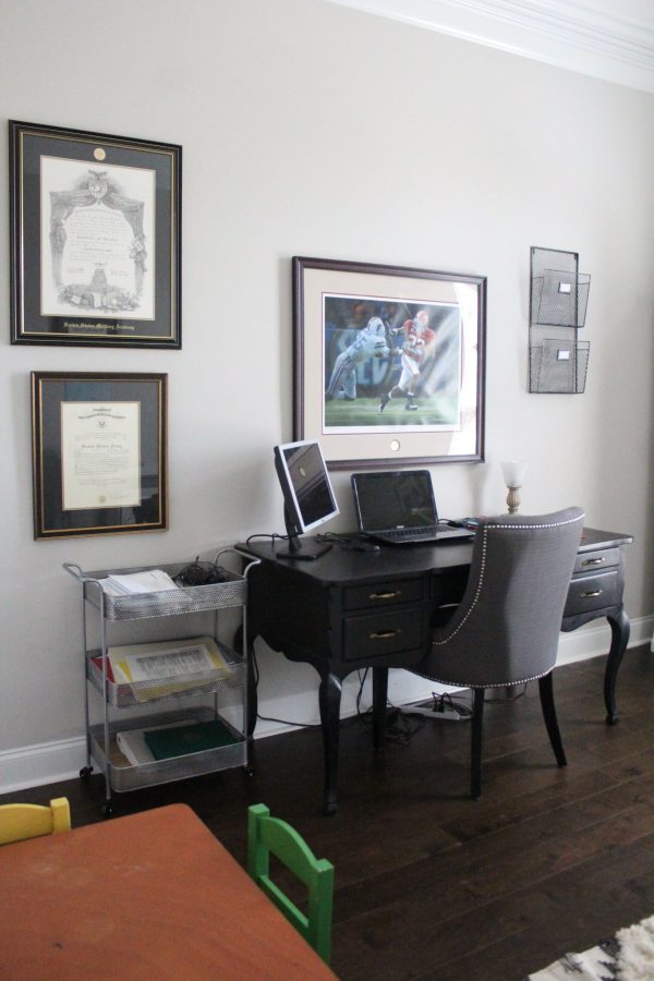 Our Shared Home Office | WhimsicalSeptember.com