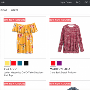 Stitch Fix Buy New Colors Option and How It Works