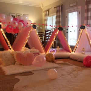 Throwing a Sleepover Birthday Party with Southern Sleepovers