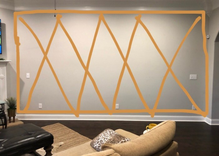 How to create a diamond accent wall is a question that I've recieved since my recent living room overhaul. I'm sharing a few tips to.....