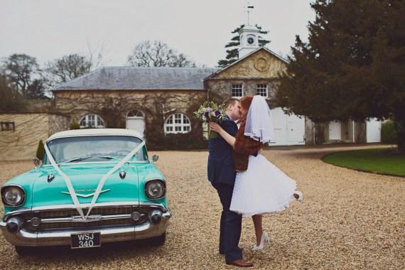 1950s retro vintage wedding
