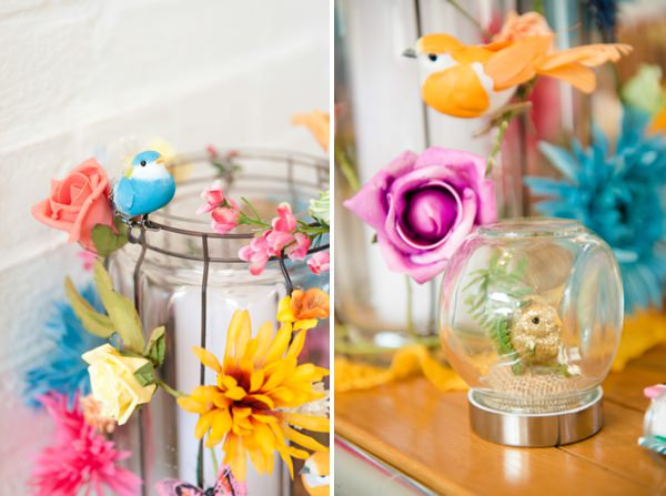 quirky wedding decor http://www.georgimabee.com/