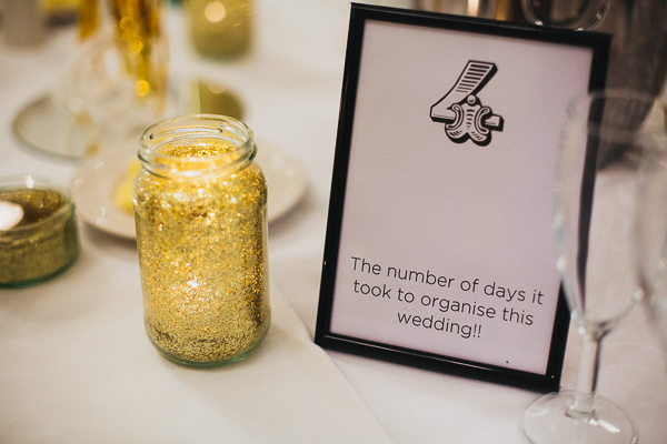 Brighton Sea Front Sequin Glitter Wedding Table Numbers http://www.redonblonde.com/