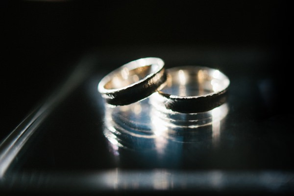 Intimate Sophisticated Lithuania Wedding Rings http://www.kokkinofoto.lt/