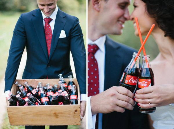 Intimate Sophisticated Lithuania Wedding Coca Cola http://www.kokkinofoto.lt/
