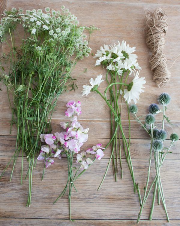 Homegrown Wedding Flowers | DIY Bridal Bouquet of Cow ...