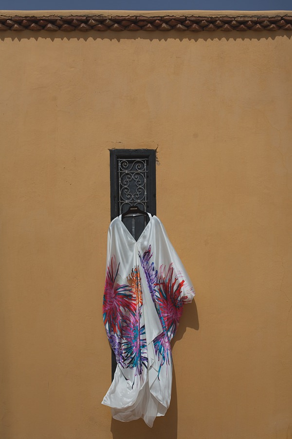 Roberrto Cavalli Dress Chilled Colourful Marrakech Wedding http://www.sallytphotography.com/