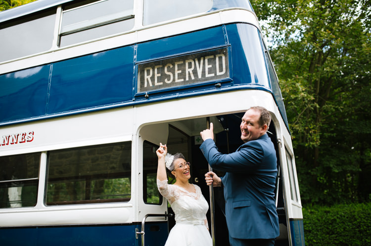 Bus Transport Eclectic Vintage Music Party Wedding http://www.theretreat.co/