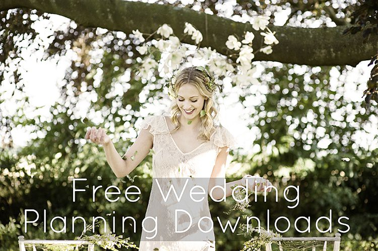 Free Wedding Planning Downloads Tools Spreadsheets Lists
