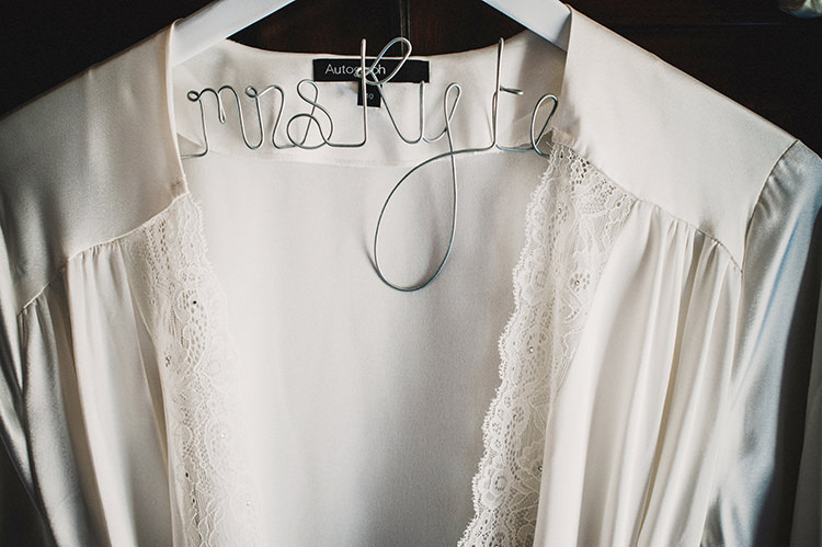 Personalised Bride Hanger Dress Glamorous Gatsby 1920s Speakeasy Winter Wedding http://www.jmcsweeneyphotography.co.uk/