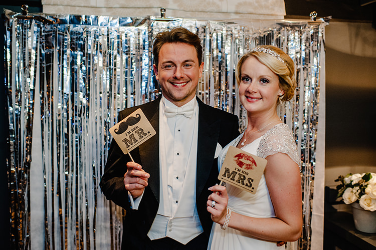Photobooth Glamorous Gatsby 1920s Speakeasy Winter Wedding http://www.jmcsweeneyphotography.co.uk/