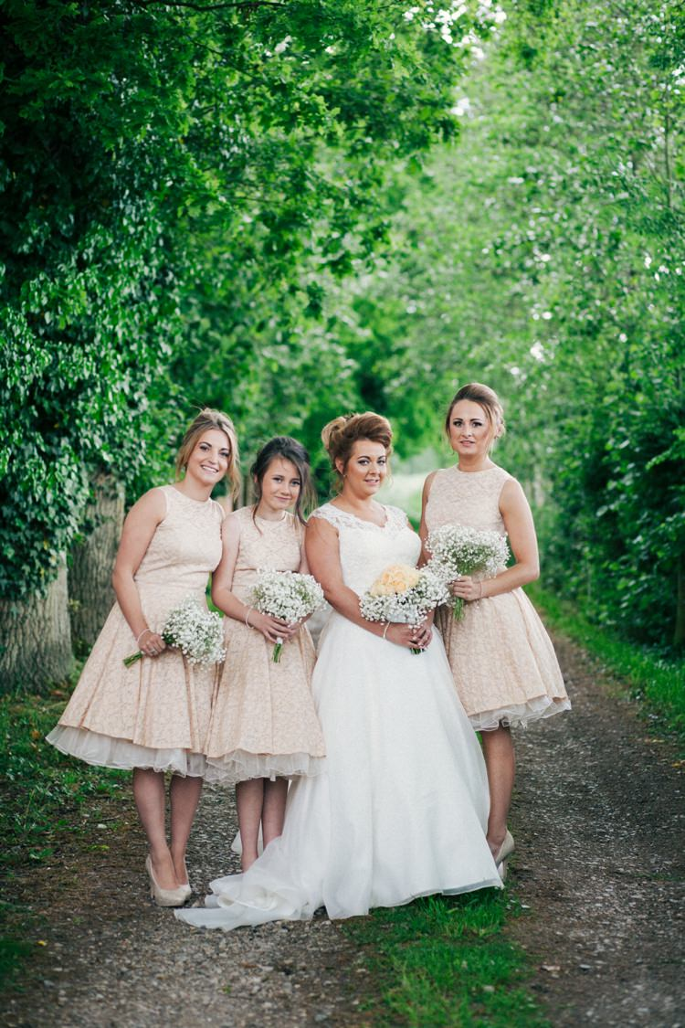 Whimsical Peach Afternoon Tea Party Wedding Whimsical