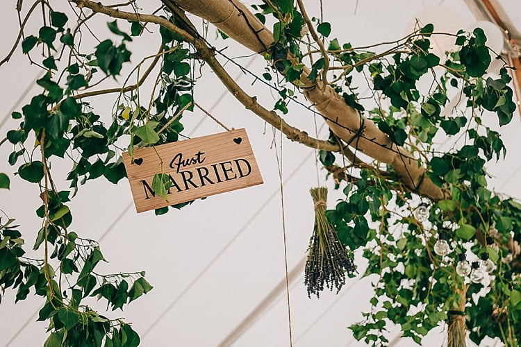 Hanging Branches Marquee Casual Summery Rustic Beach Wild Horses Wedding http://www.jasonmarkharris.com/