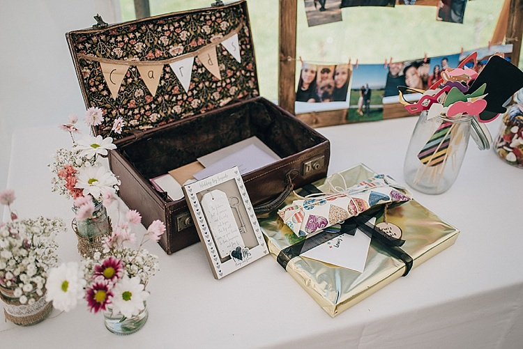 Card Suitcase Box Casual Summery Rustic Beach Wild Horses Wedding http://www.jasonmarkharris.com/