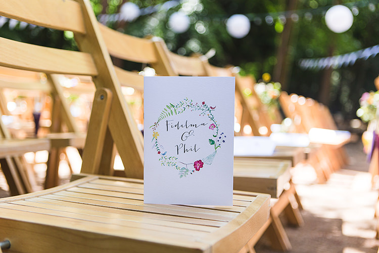 Floral Stationery Indie Hand Made Outdoor Woodland Wedding http://www.ilariapetrucci.co.uk/
