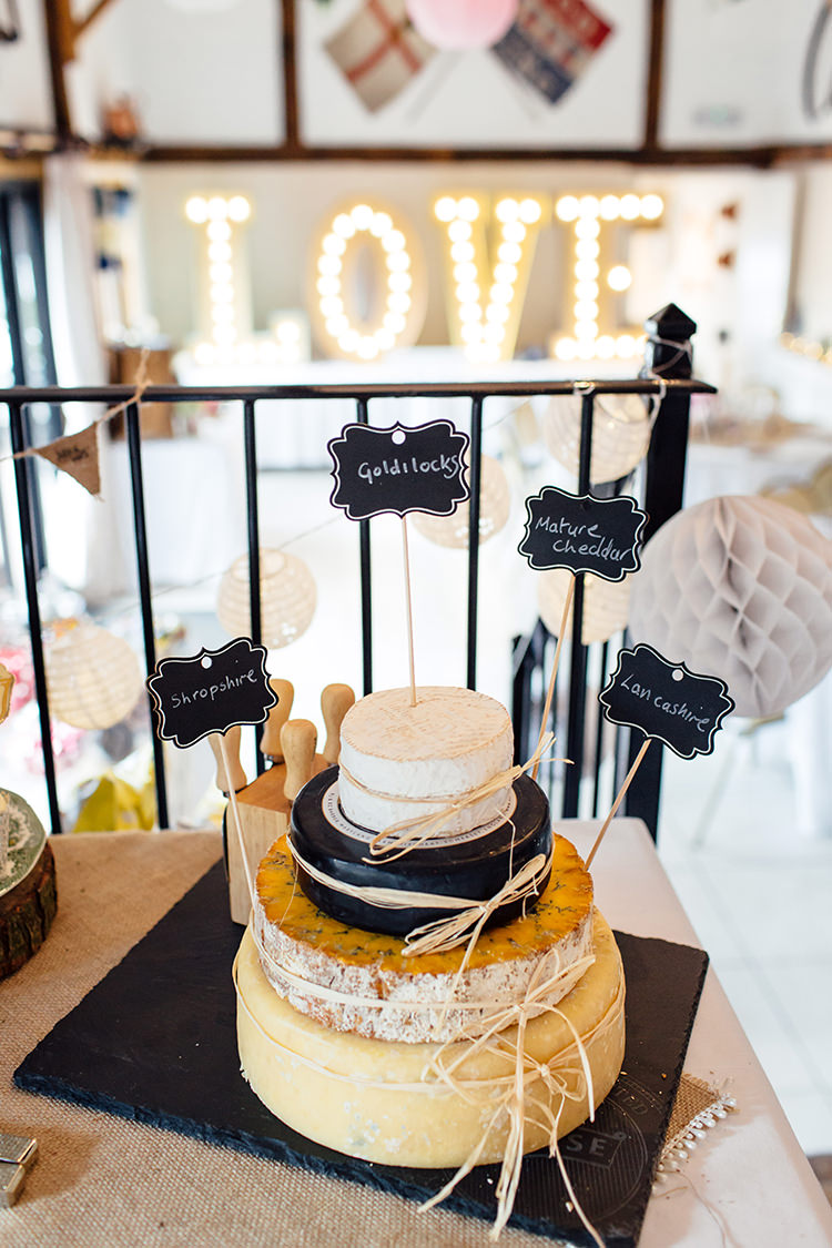 Cake Tower Stack Cake Home Made Rustic Eclectic Wedding http://www.frecklephotography.co.uk/