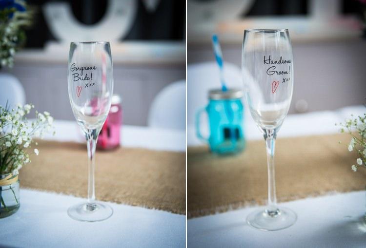 Glasses Bride Groom Colourful DIY Village Fete Wedding http://jamesgristphotography.co.uk/blog/