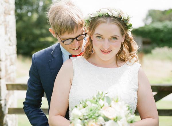 Bride Groom Wedding Glasses http://rosieanderson.co.uk/