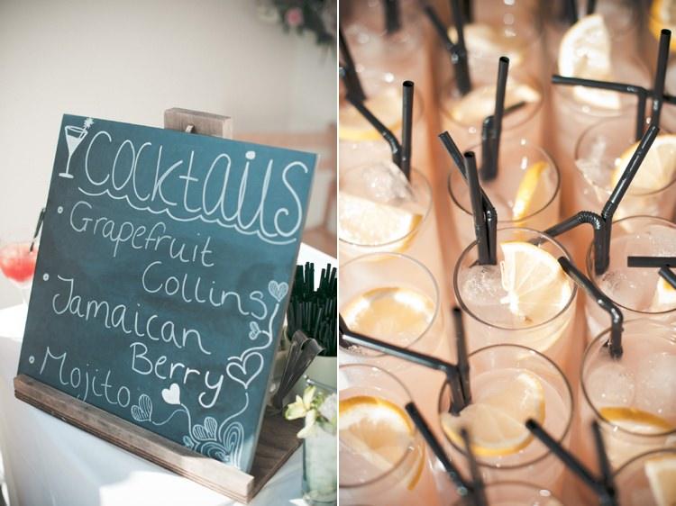 Cocktails Beautiful Summer Garden Party Wedding http://divinedayphotography.com/