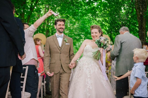 Quirky Stylish Home Made Woodland Wedding http://bloomweddings.co.uk/
