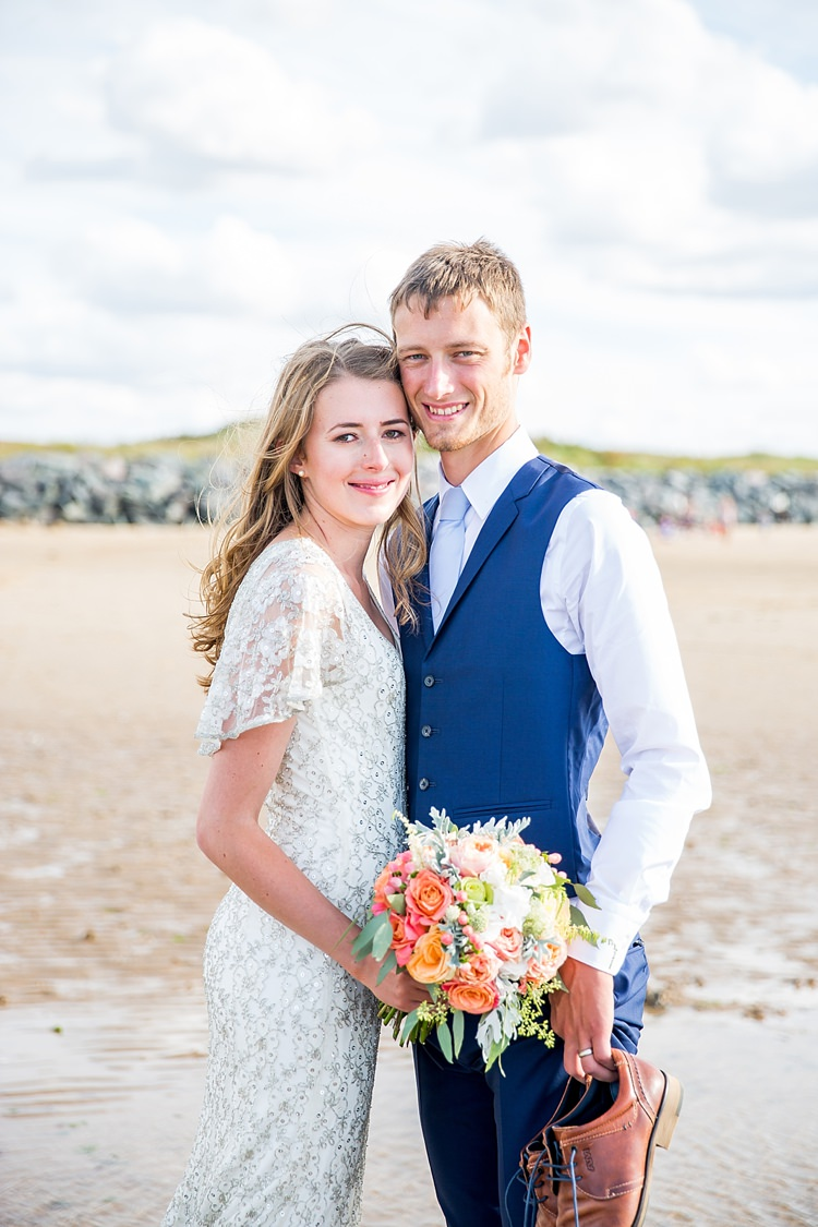 Fresh Relaxed Summer Beach Wedding
