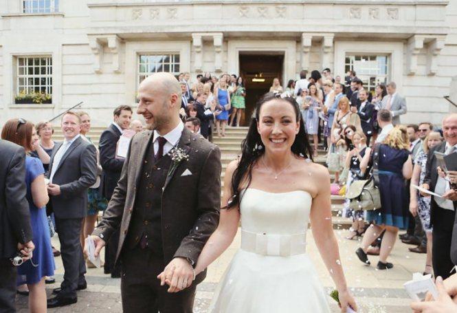 Pub Wedding Reception East London Invitation Sample