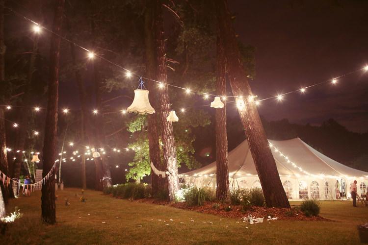 Festoon Lights Lampshades Marquee Mismatched Fairground Woodland Wedding http://www.rebeccaweddingphotography.co.uk/