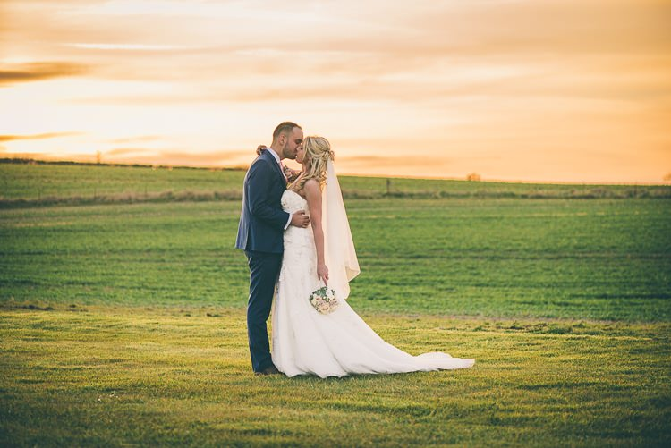 Blush Pink & Rose Gold Barn Wedding