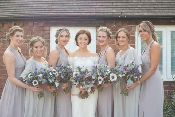 Copper Dusky Lilac Grey Rustic Barn Wedding http://www.kayleighpope.co.uk/