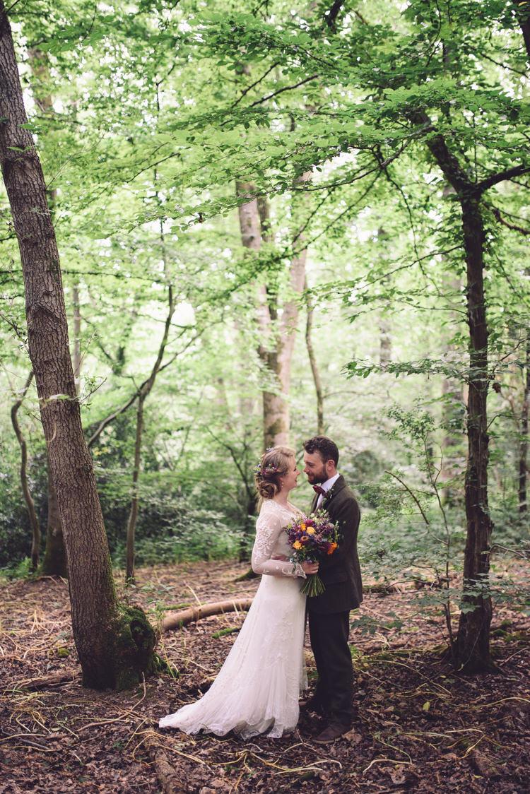 Hand Crafted Vintage Woodland Wedding Whimsical