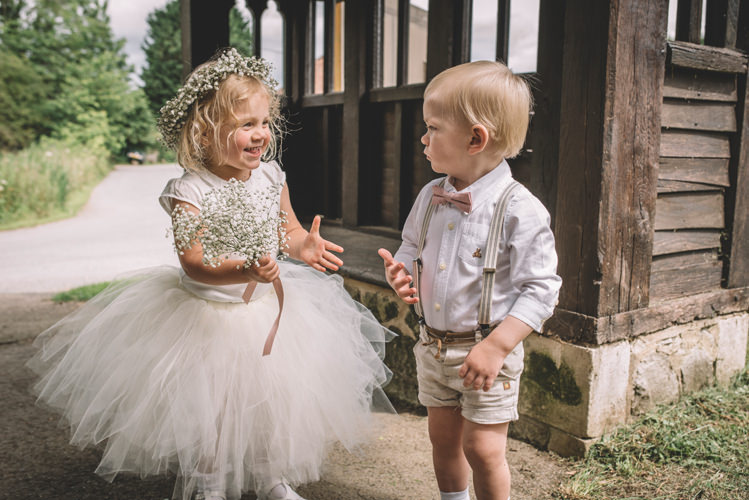 Flower Girl Page Boy Bow Tie Braces Shorts Tulle Dress Crown DIY Summer Rustic Country Wedding http://www.danielakphotography.com/